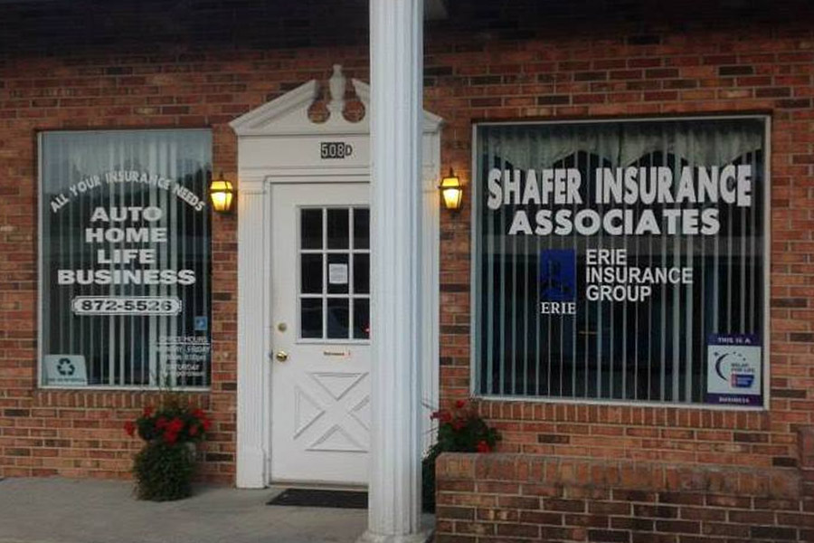 About Our Agency - Outside of the Shafer Insurance Building